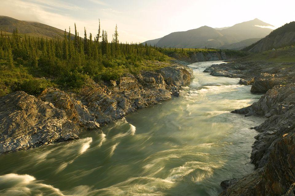 Canada, Yukon Territory, Ivvavik National Park, Firth River