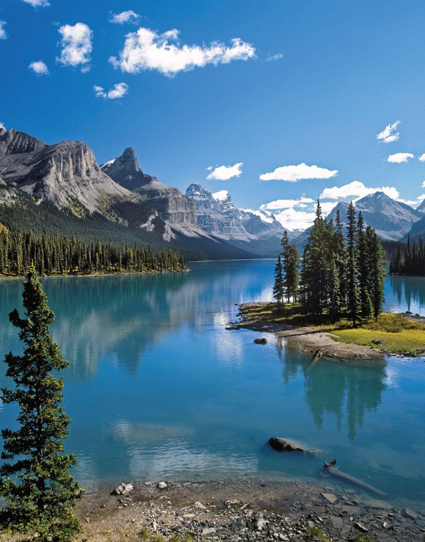 Maligne Lake, einer der schönsten Seen Kanadas