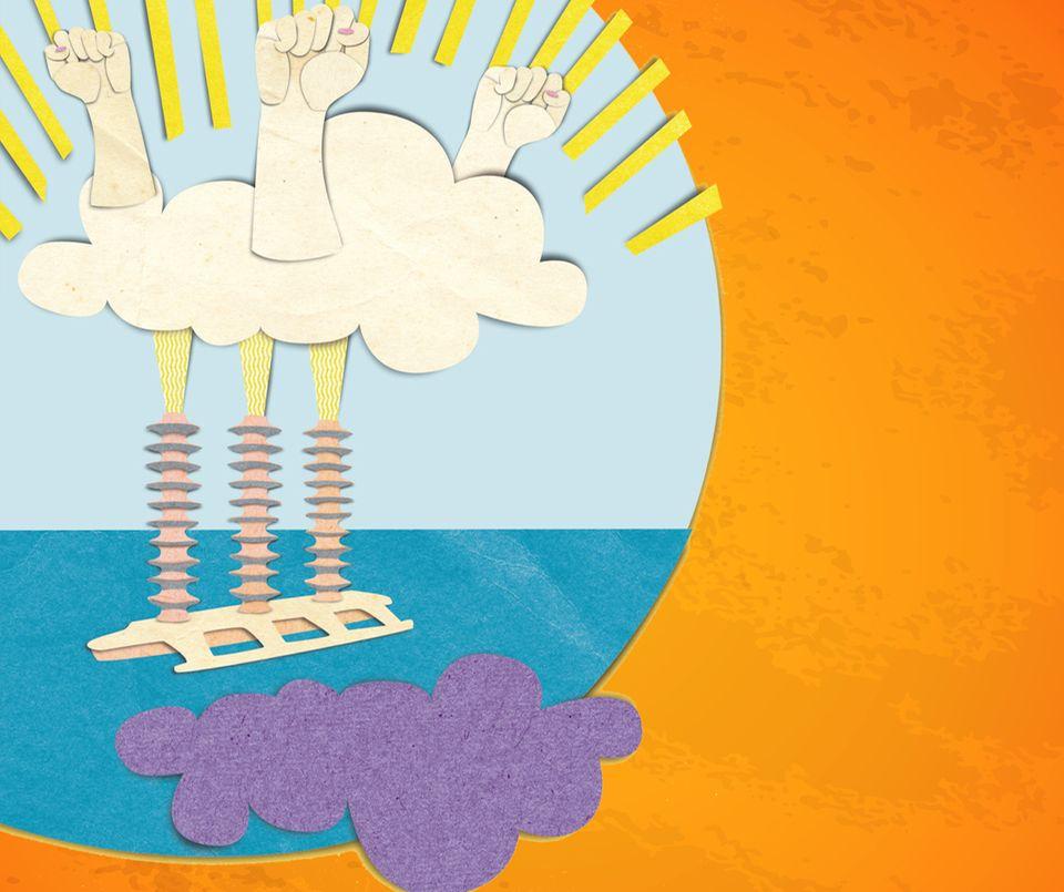 Klimawandel: Künstlich hergestellte Wolken könnten mithilfe ihres Schattens für eine Abkühlung auf der Erde sorgen