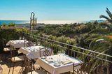 Ausblick vom Hotel Le Cagnard