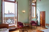 Blick aus dem Hotel Gabrielli in Venedig
