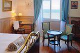 Blick aus dem Grand Hôtel Cabourg