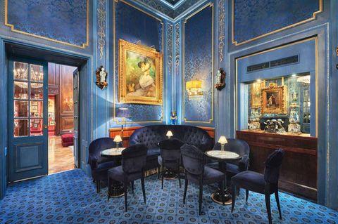 Die Lobby des Hotel Sacher