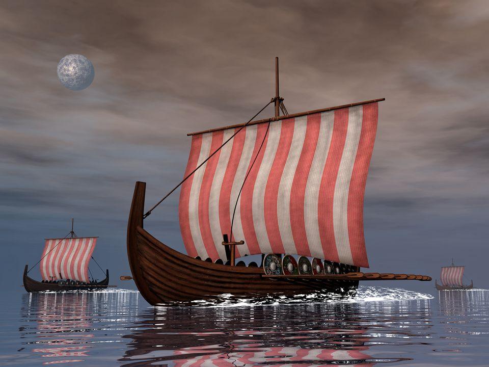 Wikinger: Die Wikinger waren Meister des Schiffbaus