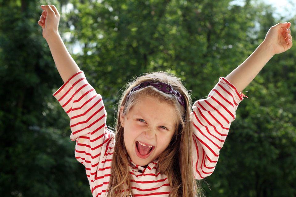 Redewendung: Mit einem lachenden und einem weinenden Auge