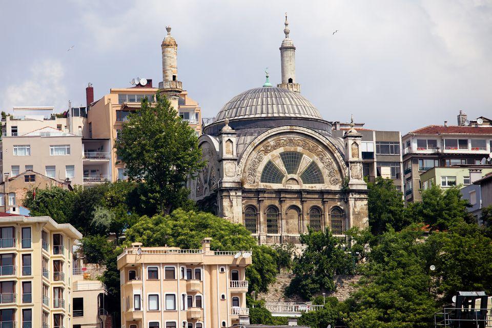 Moschee in Istanbul, Türkei
