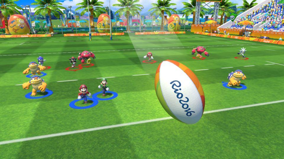 Spieletest: Auch eine olympische Disziplin: Football