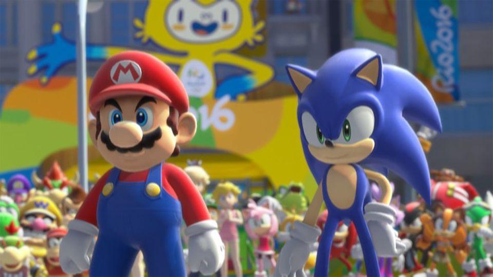 Mario und Sonic bei den Olympischen Spielen in Rio 2016