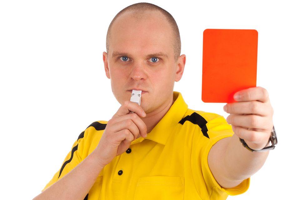 Redewendung: Arschkarte ziehen