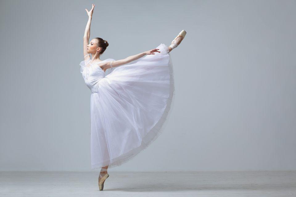 Beruf: Ballerina beim Tanz
