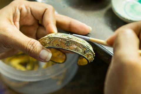 Beruf: Als Goldschmied braucht man Fingerspitzengefühl