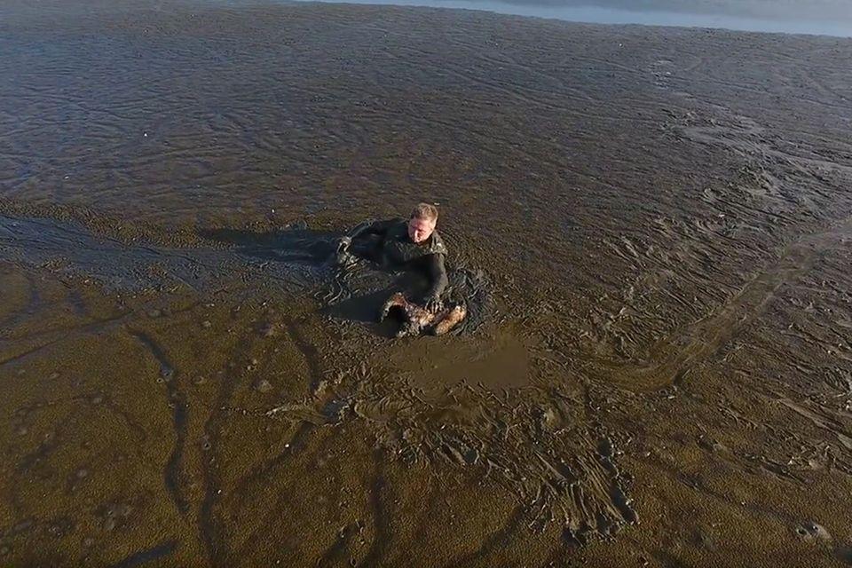 Usedom: Dieser Fotograf riskiert viel, um einen Adler zu retten