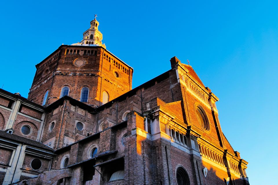 Broletto Kathedrale in Pavia