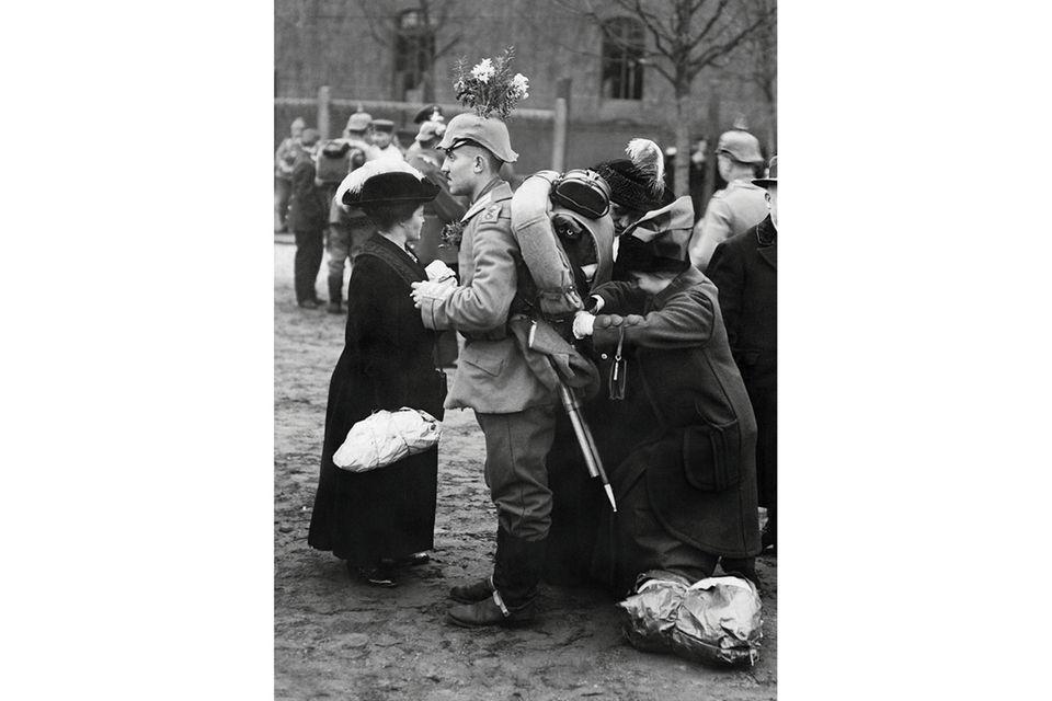 Preußen: Preußen im Ersten Weltkrieg