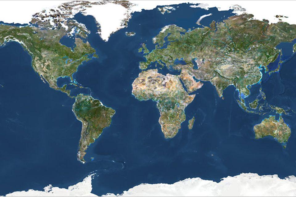 Kurioses: Die Erde ist eine Scheibe und andere Irrtümer