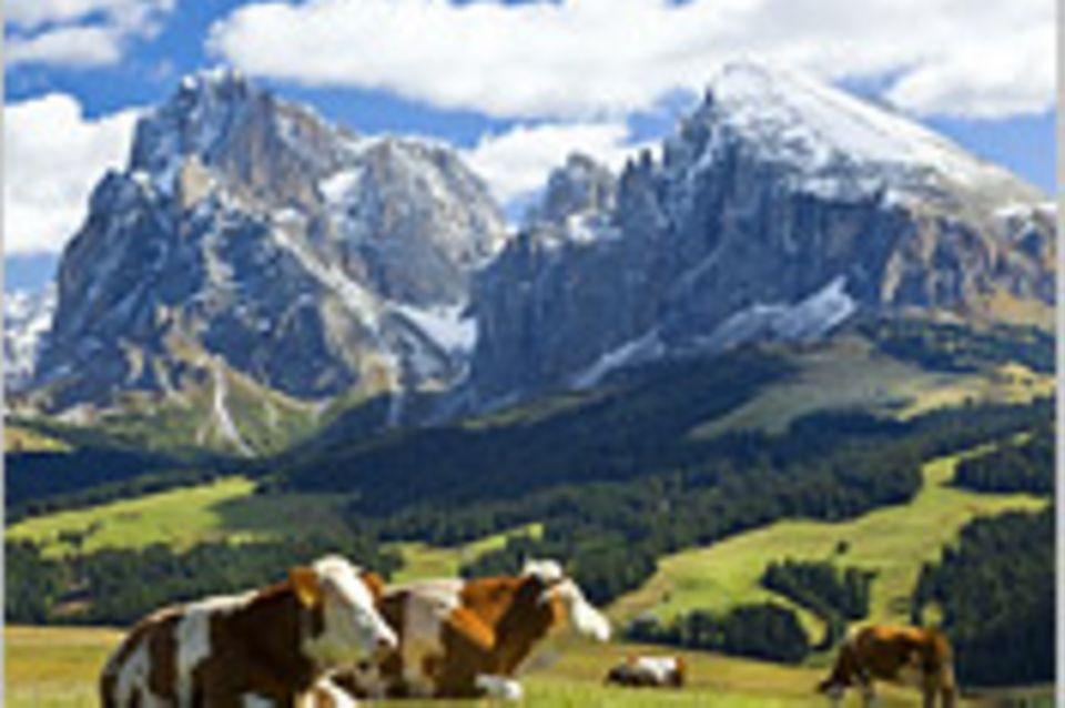 Südtirol: In drei Tagen durch die italienischen Alpen