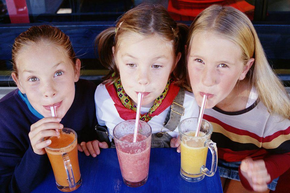 Rezepte: Kindergetränke: Smoothies, Limonade & Co