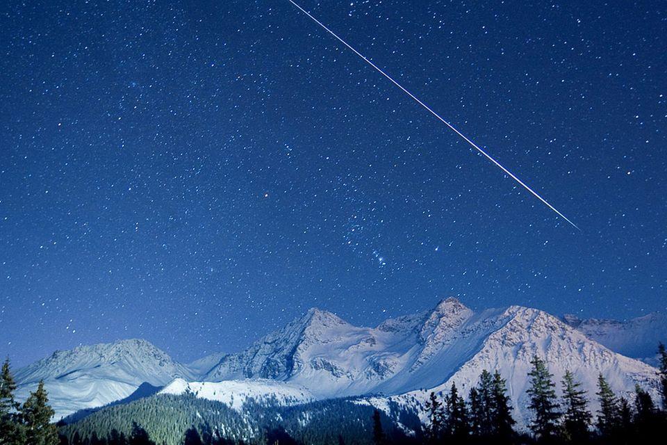 Naturschauspiel: Fünf erstaunliche Fakten über Sternschnuppen