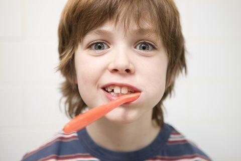 Redewendung: Sich die Zähne ausbeißen
