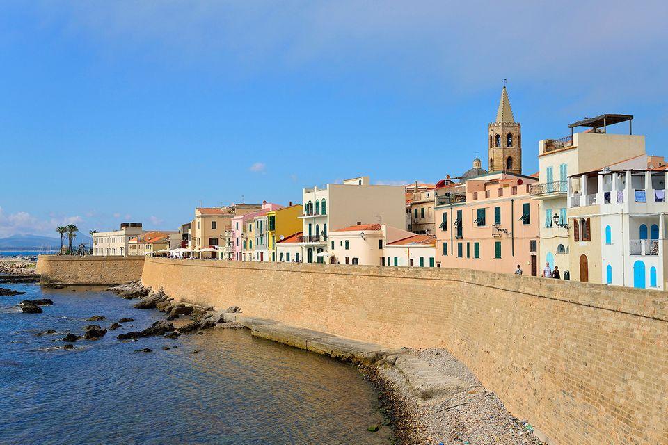 Alghero, Sardinien