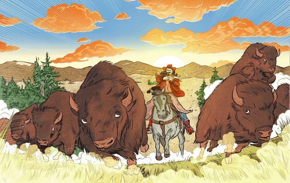 Der wilde Westen: Welch ein Gemetzel! In den Jahren 1867 und 1868 versorgt Cody Eisenbahnarbeiter mit Fleisch – und schießt dafür mehr als 4000 Bisons. Jäger wie er sind daran schuld, dass von den Millionen Büffeln, die lange Zeit durch Nordamerika streifen, Ende des 19. Jahrhunderts nur noch wenige Hundert leben
