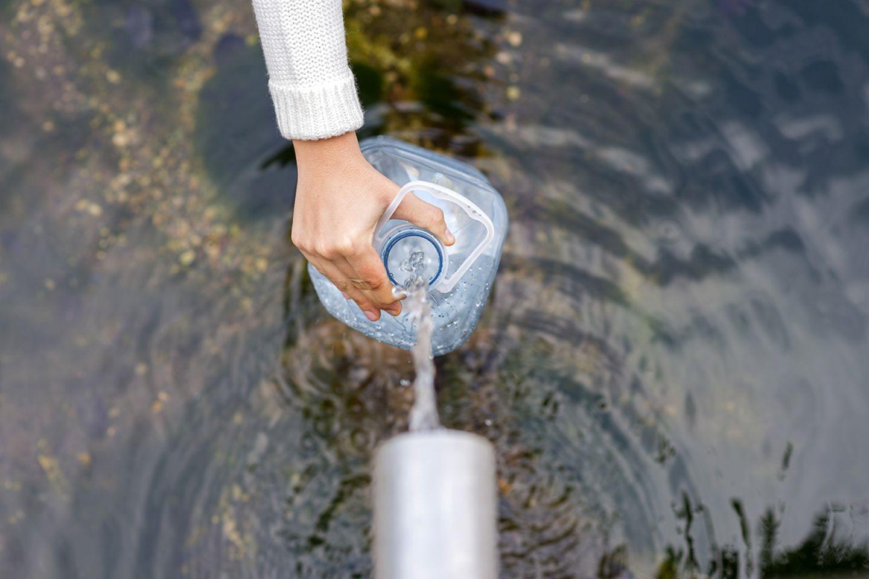 Trinkwasser abfüllen