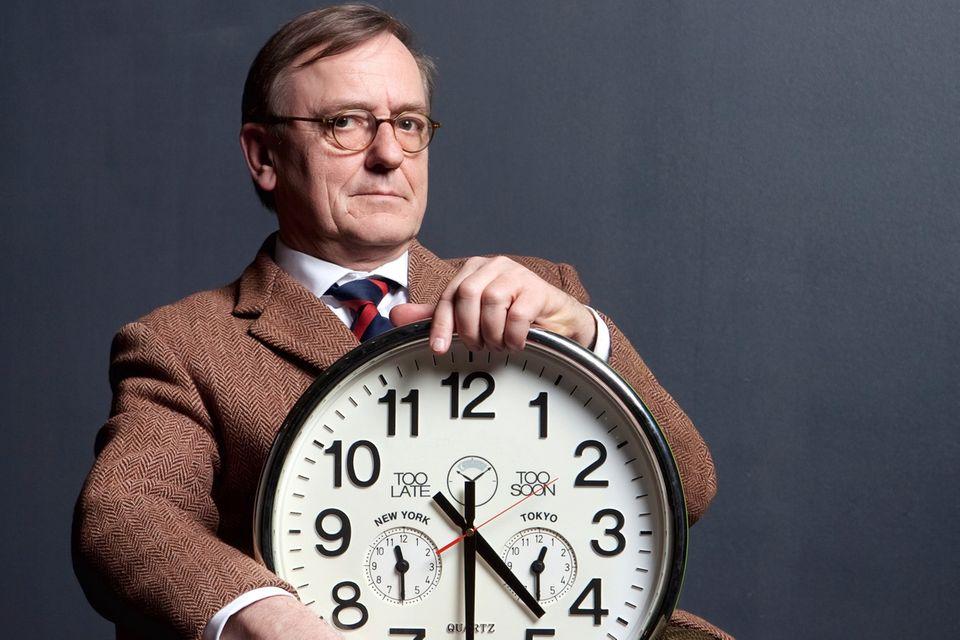 Schlafmangel: Till Roenneberg ist Professor am Institut für Medizinische Psychologie an der Ludwig-Maximilians-Universität in München und einer der weltweit renommiertesten Chronobiologen. Roenneberg erforscht unter anderem die sozialen Ursachen von Schlafmangel