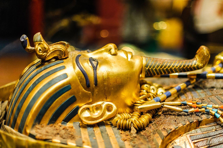 Die Maske des Tutanchamun
