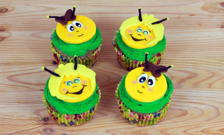 Biene Maja Cupcakes