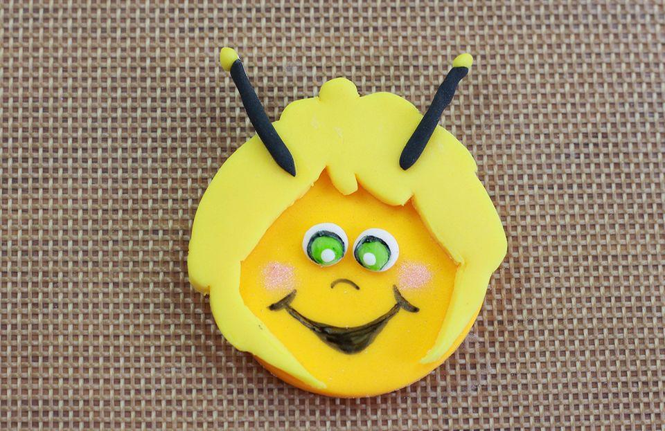Biene Maja Cupcake Gesicht