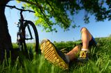 Fahrrad, Pause