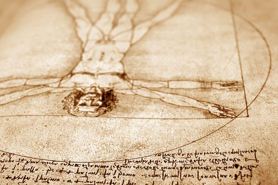 Vetruvian Man, Leonardo da Vinci