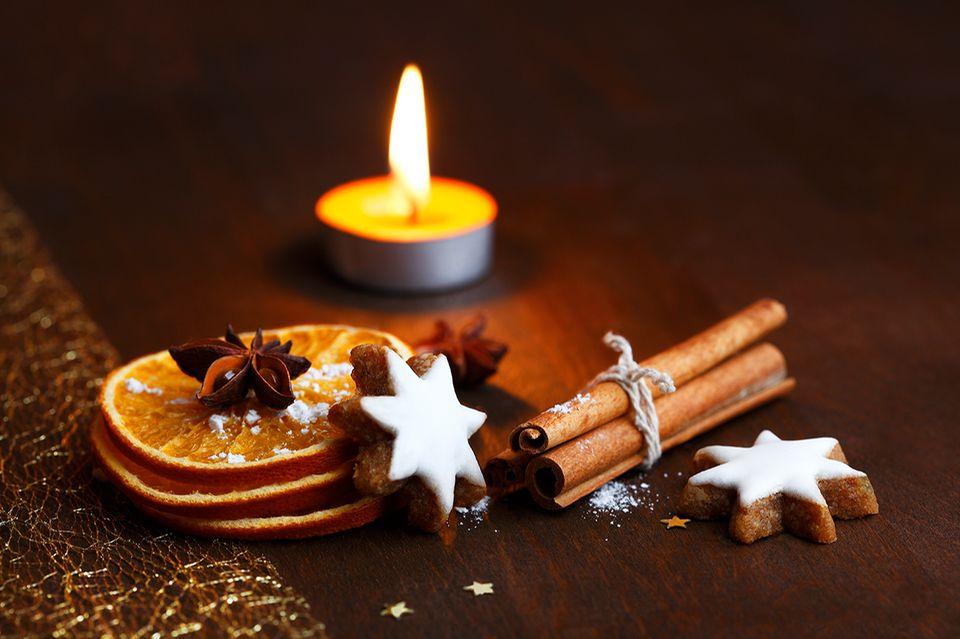 Adventszeit mit Kerzenschein