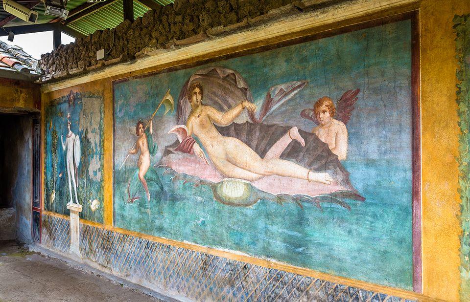 Venus von Pompeji in Italien