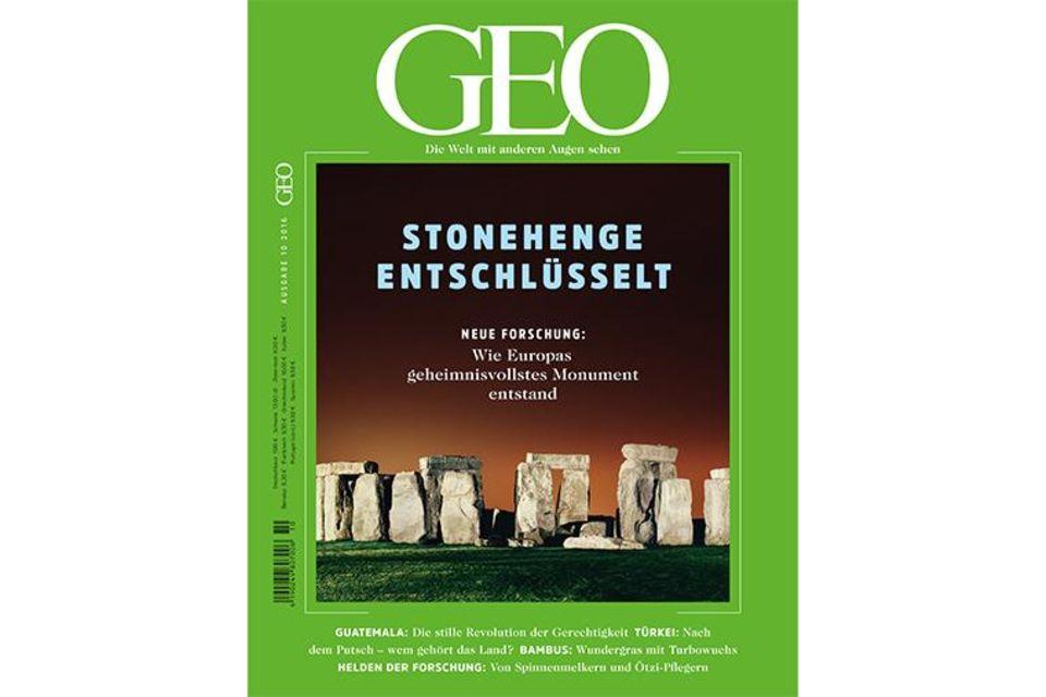 GEO Nr. 10/2016 - Stonehenge entschlüsselt