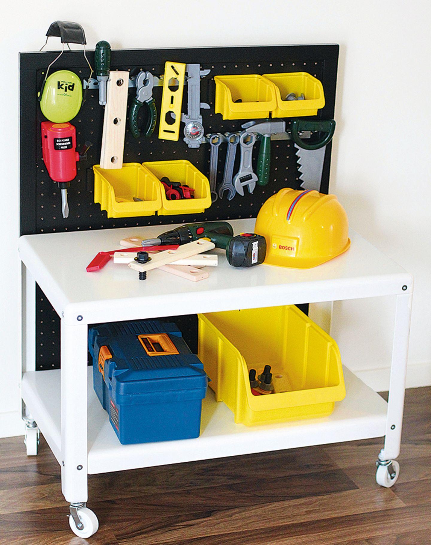 IKEA HACK - Werkbank für Kinder