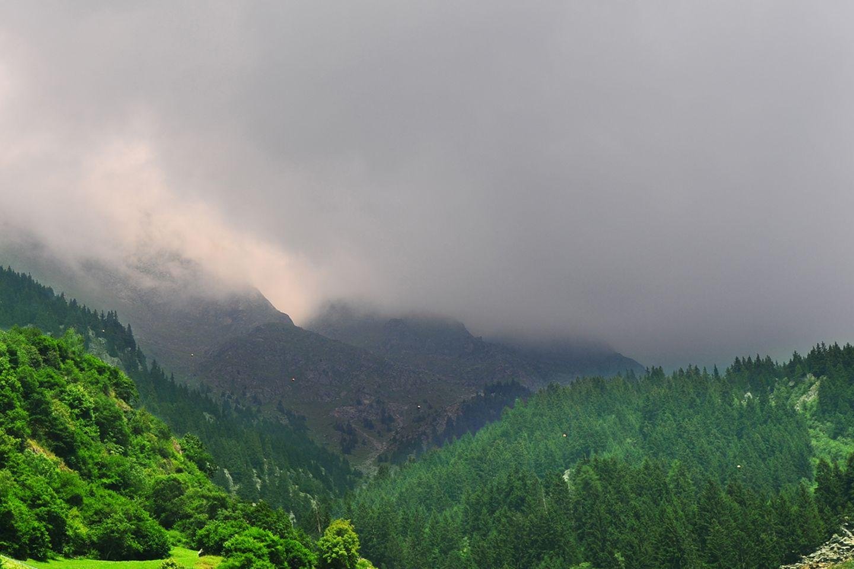 Alpen Regen