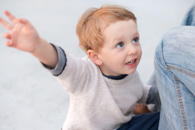 Kind spricht