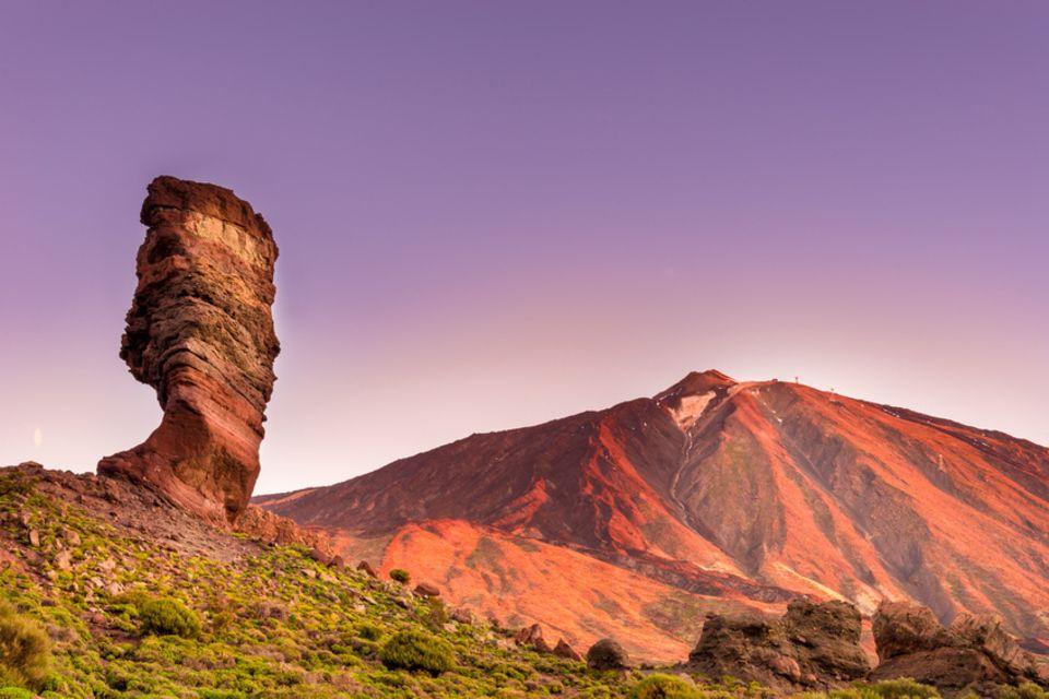 Teneriffa, Roques de Garcia, Teide
