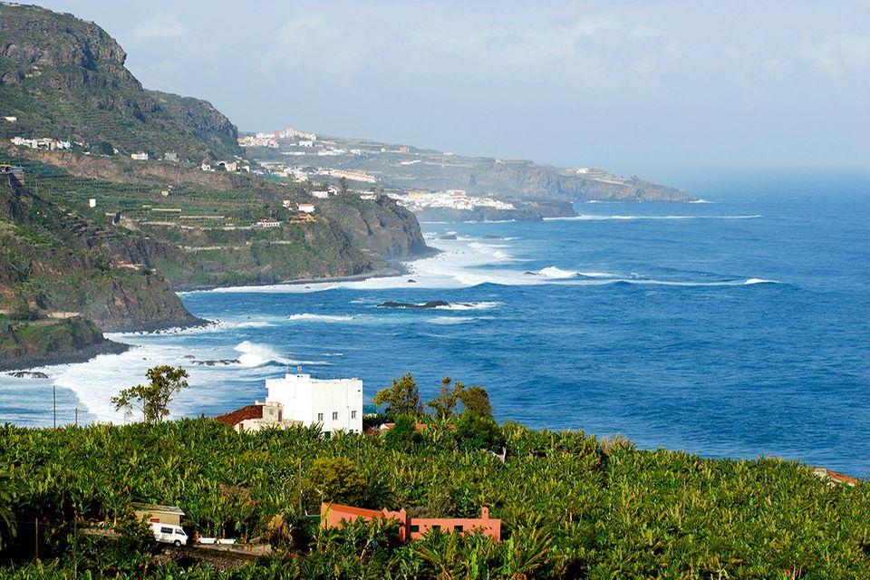 Nordküste bei San Juan de la Rambla, Teneriffa