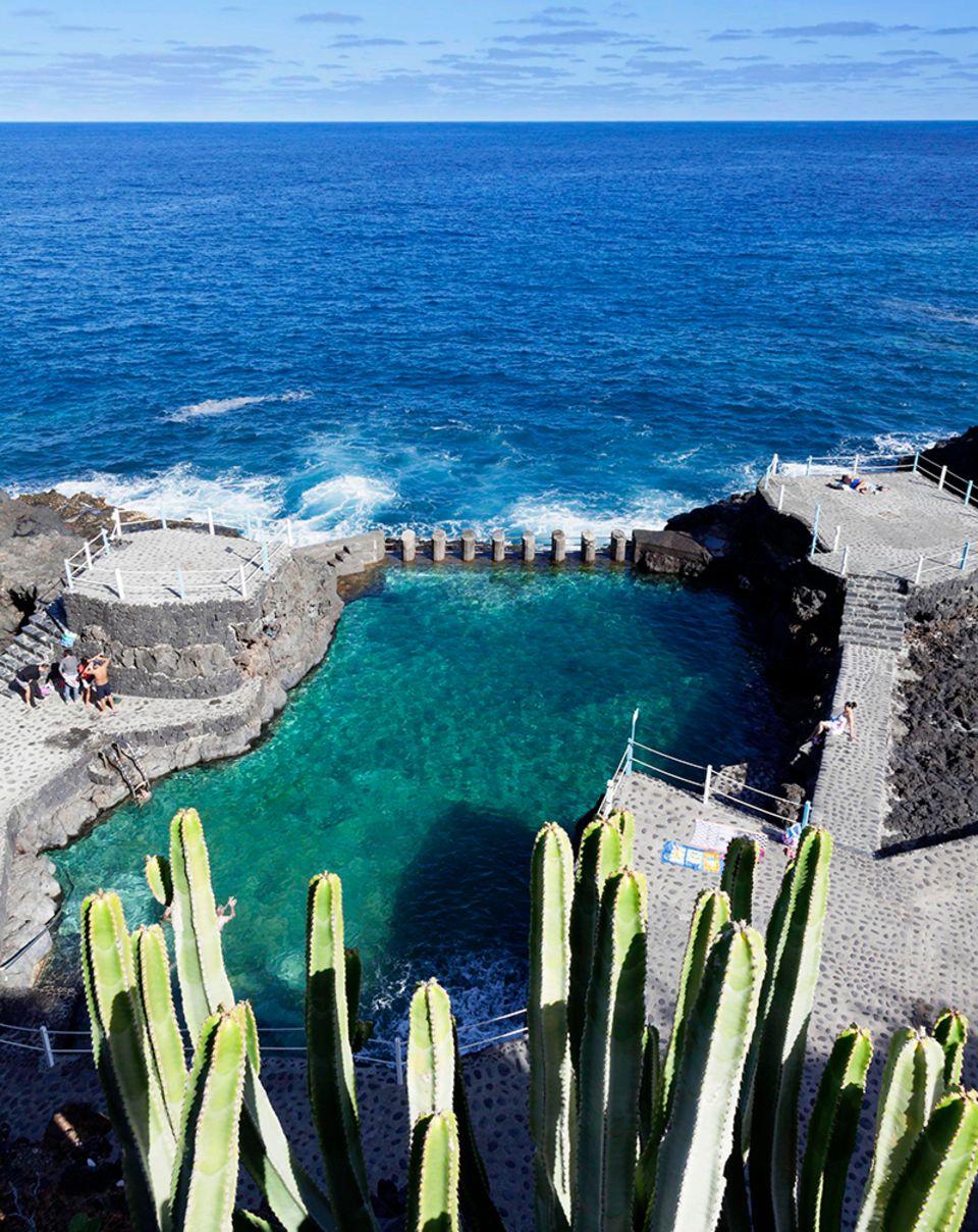 Naturschwimmbecken Charco Azul, San Andres, La Palma