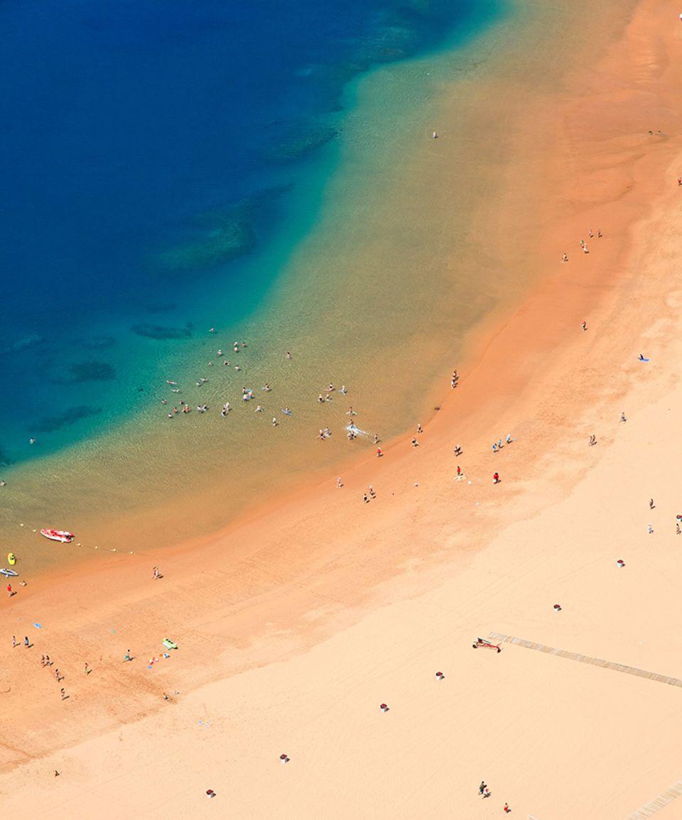 Teneriffa, Playa de Las Teresitas