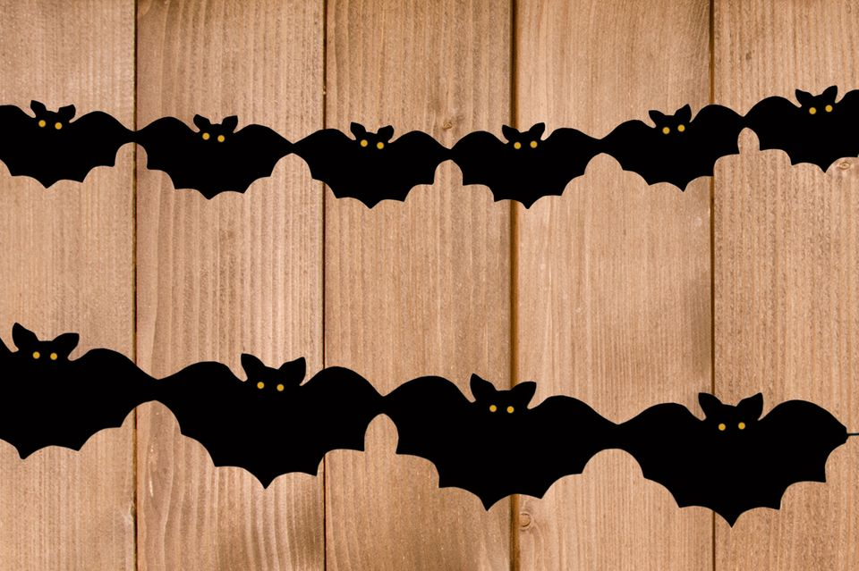 Vampir Girlande zu Halloween