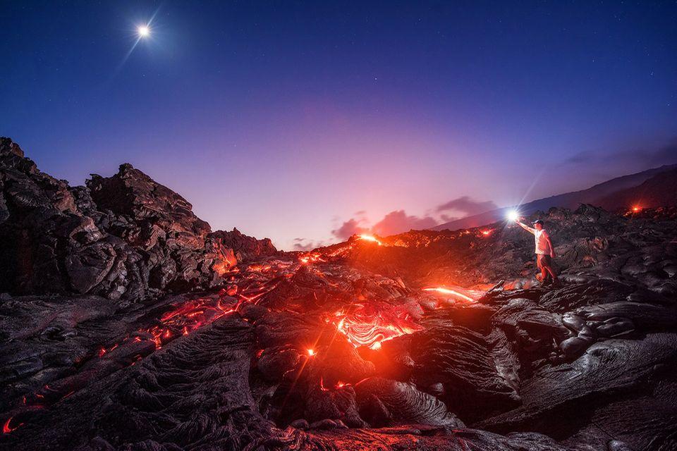 Kilauea Volcano - Mike Mezeul