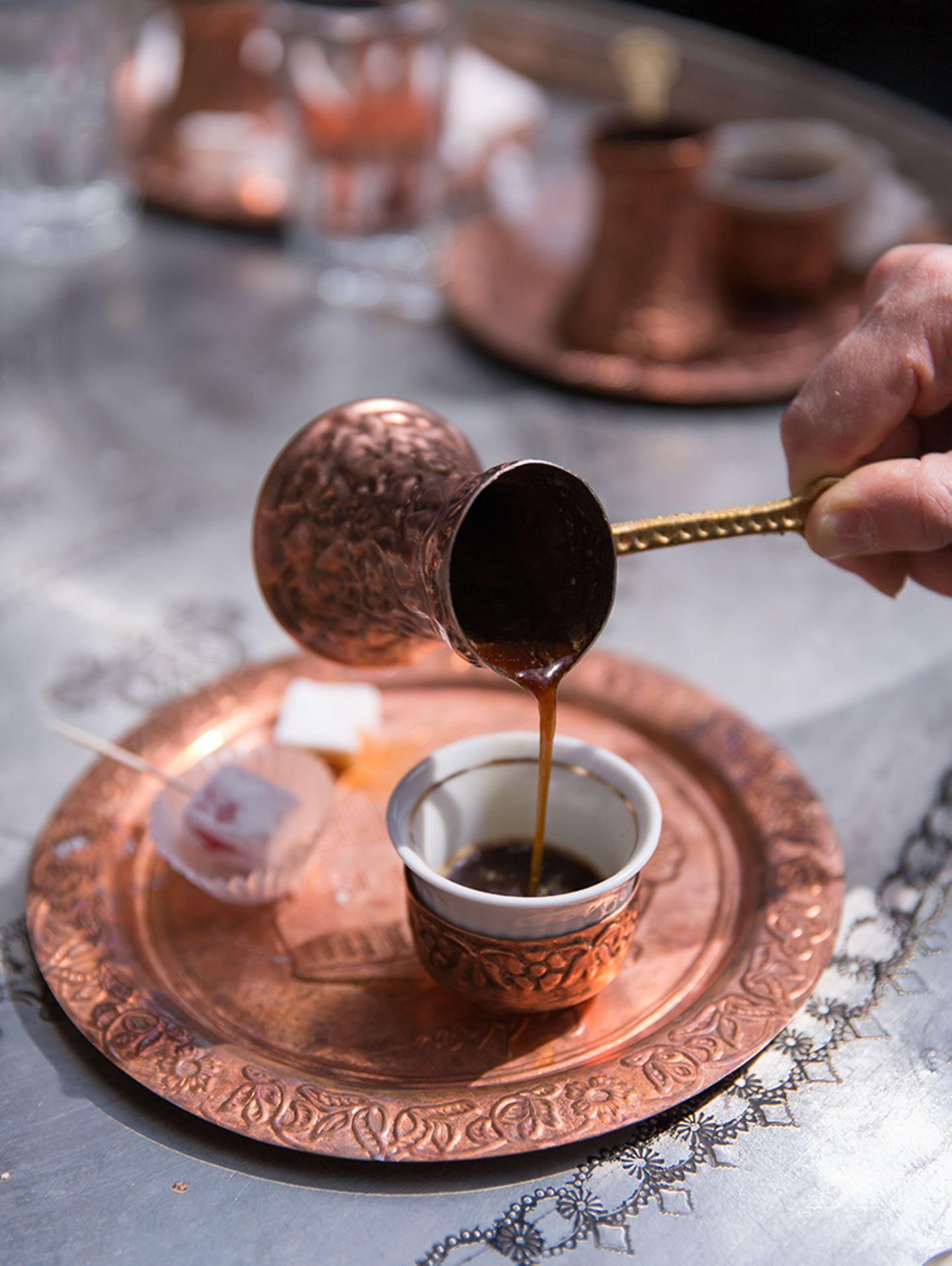 Türkei, Kaffee aus dem Ibrik