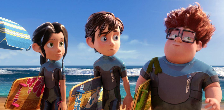 Einmal Mond und zurück - Amy, Mike und Marty am Strand