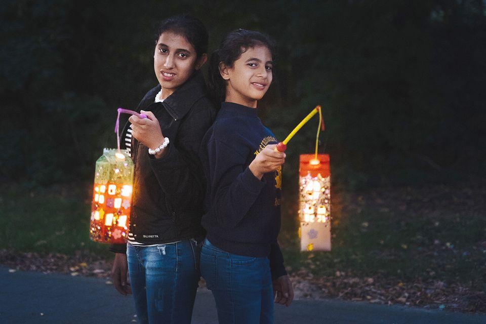 Dein Licht für Flüchtlingskinder
