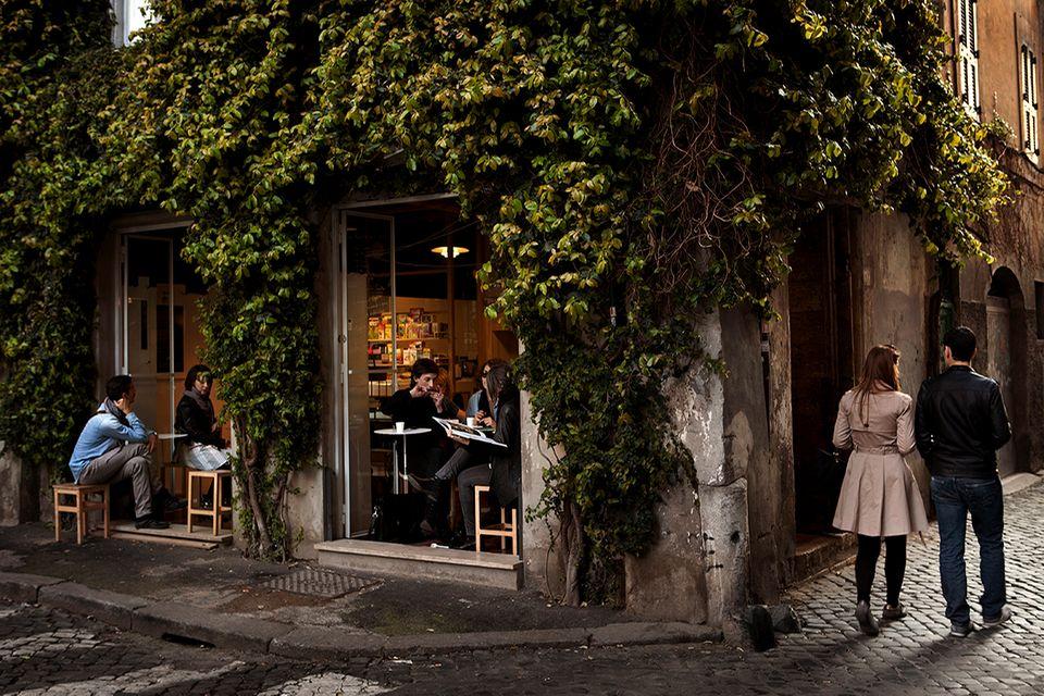 """Cafe und Winebar """"La Casetta della Madonna dei Monti"""""""