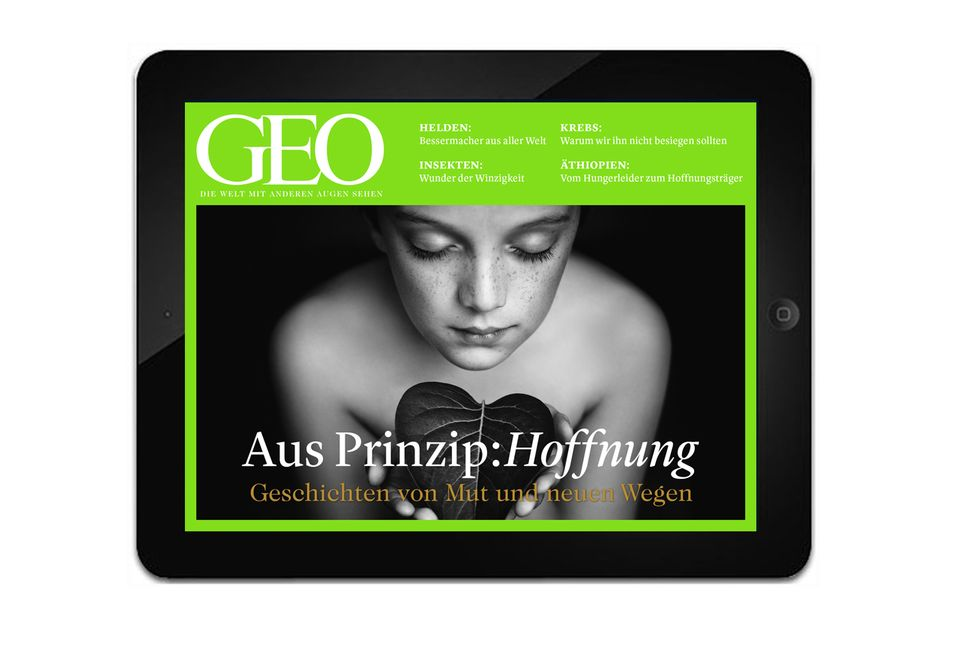 """GEO App """"Aus Prinzip: Hoffnung"""""""