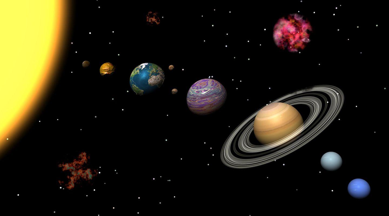 Sonnensystem selbst bauen